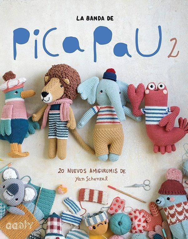 Libro de crochet La Banda de Pica Pau 2