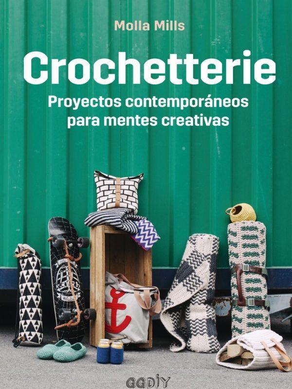 Libro Crochetterie proyectos contemporáneos para mentes creativas (portada)