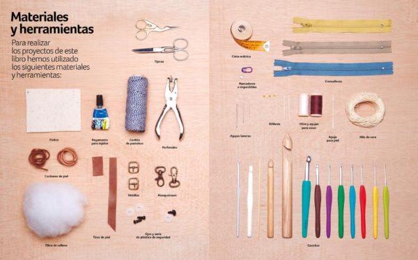 Libro de ganchillo Ganchitos 20 proyectos (herramientas)