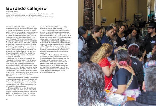 Libro Mexico Bordado. De la tradición al punto contemporáneo (interior)