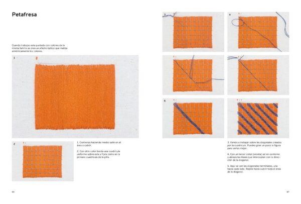 Libro Mexico Bordado. De la tradición al punto contemporáneo (patrones)