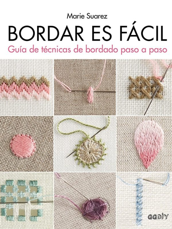 Libro Bordar es fácil. Gúia de técnicas de bordado paso a paso (portada)