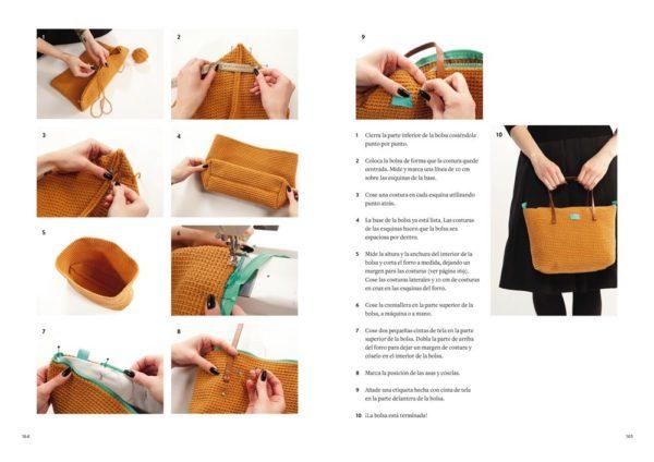 Libro de Crochet Moderno accesorios y proyectos para el hogar (paso a paso)