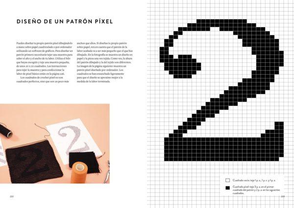 Libro de Crochet Moderno accesorios y proyectos para el hogar (patrón)