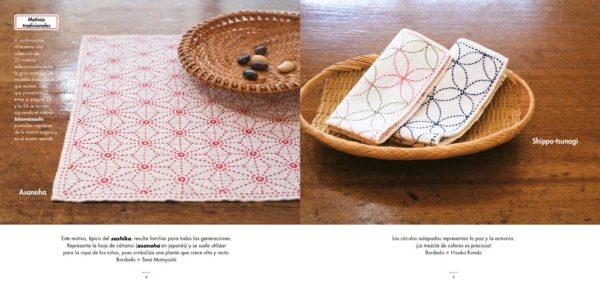 Libro descubre el Sashiko bordado japones (ejemplos)