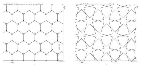 Libro descubre el Sashiko bordado japones (patrones)