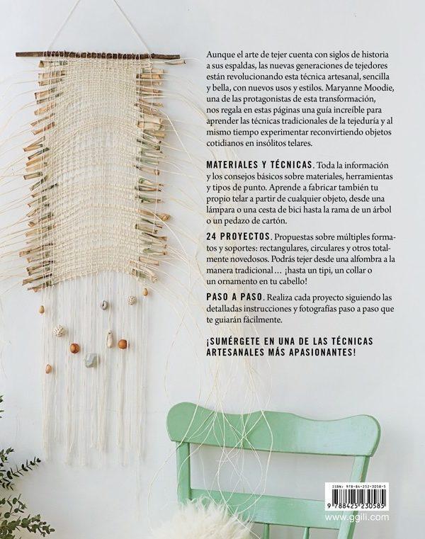 Libro En el Telar. Guia para el tejedor contemporáneo (cortina)