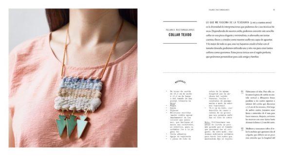 Libro En el Telar. Guia para el tejedor contemporáneo (colgante)