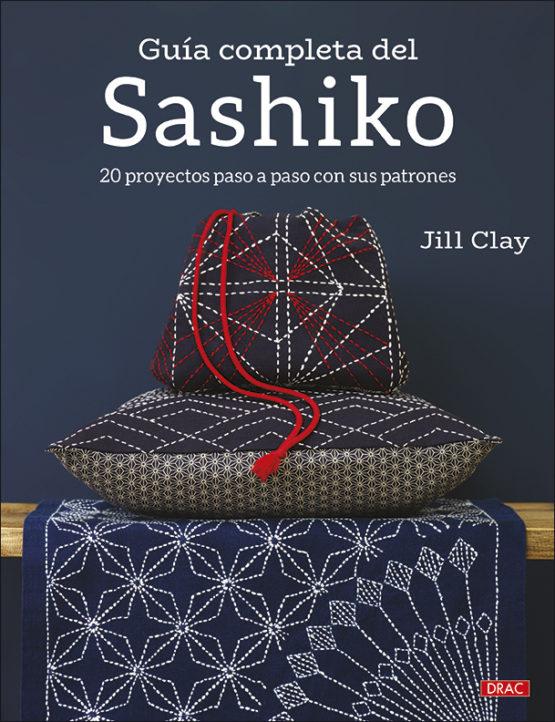 Libro de sashiko. 20 proyectos paso a paso con patrones (portada)