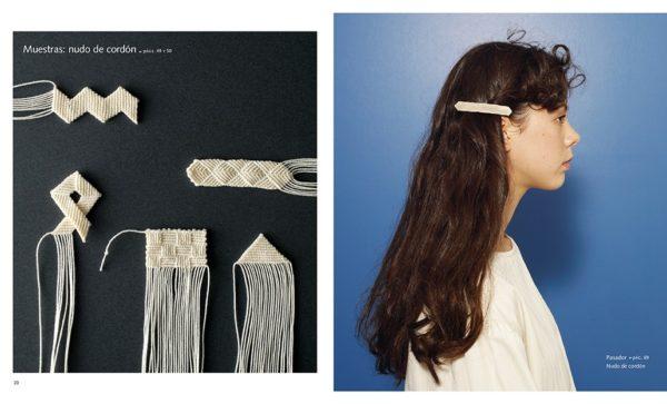Libro Accesorios de Macramé (pasadores de pelo)