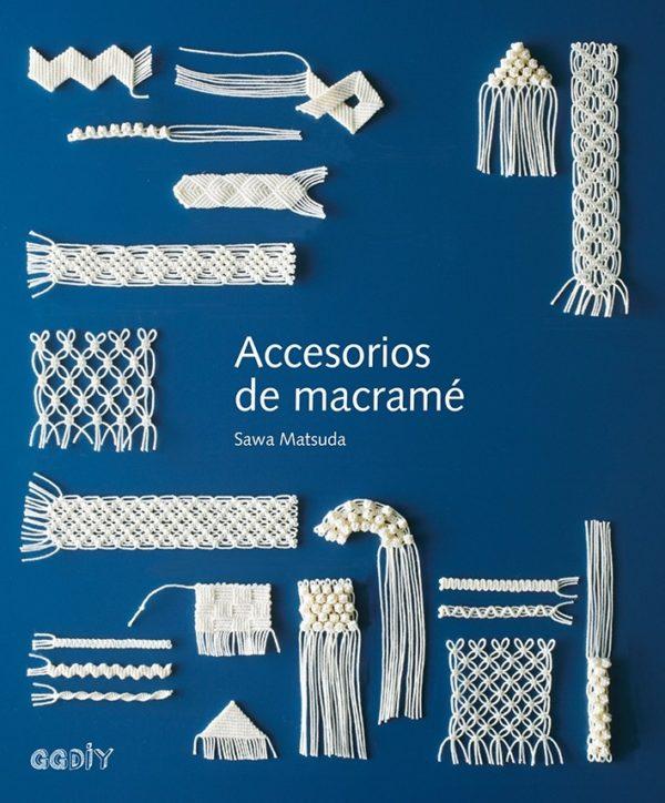Libro Accesorios de Macramé (portada)