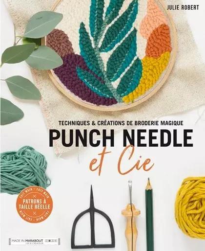 Libro Punch Needle. Bordado en relieve (portada)