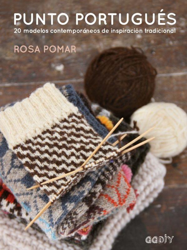 Libro Punto portugués 20 modelos contemporáneos de inspiración clásica (portada)