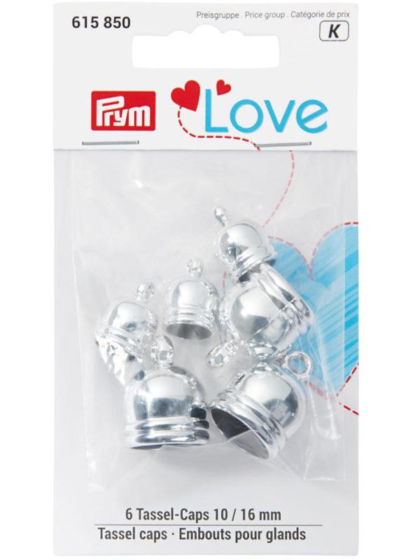 Tapas de borlas para costura, metálicos, de Prym Love