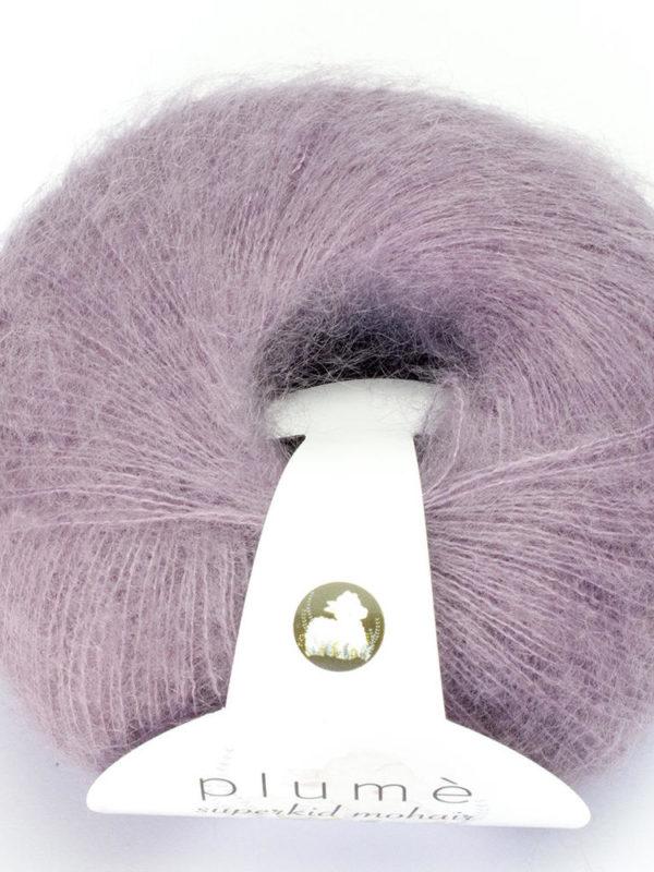 Ovillo de Lanas Alpaca Colección Plumé color Violet