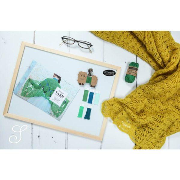 Studio Pack Catona Scheepjes de 109 ovillos de lana (ejemplo)