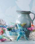 Kit de telas para confeccionar estrellitas de mar, de Tilda Fabric