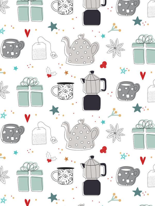 libro de 20 paginas con hojas impresas a una cara de Christmas Wish de Gigi et Moi