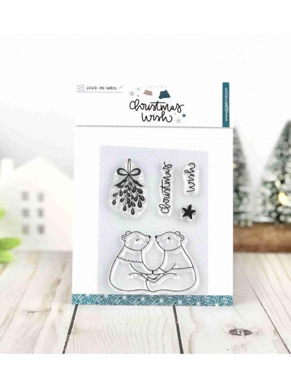 Kit de sellos para estampar con motivos navideños, de Gigi et Moi