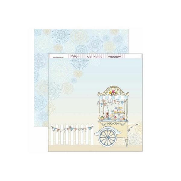 Set de papel scrapbooking especial primera comunión, de Dayka