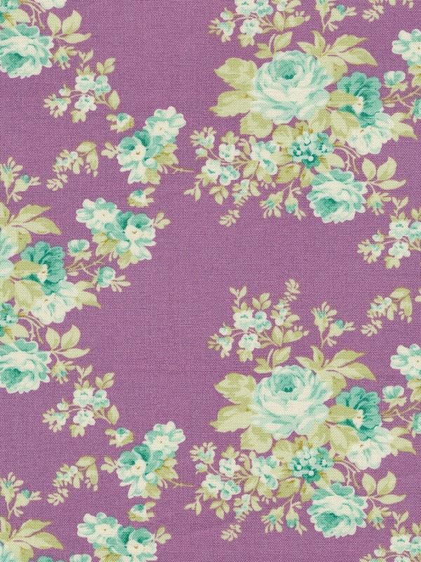 Tela Autumm Rose Lilac Harvest Collection, de Tilda Fabrics