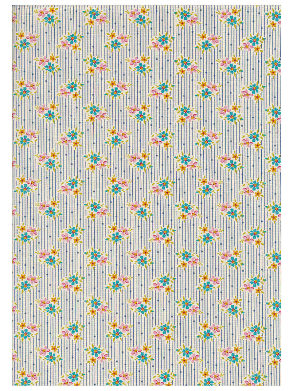 Tela Apple Butter Nancy Blue Collection, de Tilda Fabrics