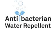 Tela antibacteriana y resistente al agua