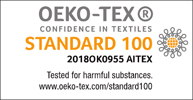 Sello de certificación OEKO-TEX