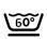 Icono de lavar a 60º