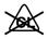 Icono de no usar lejía