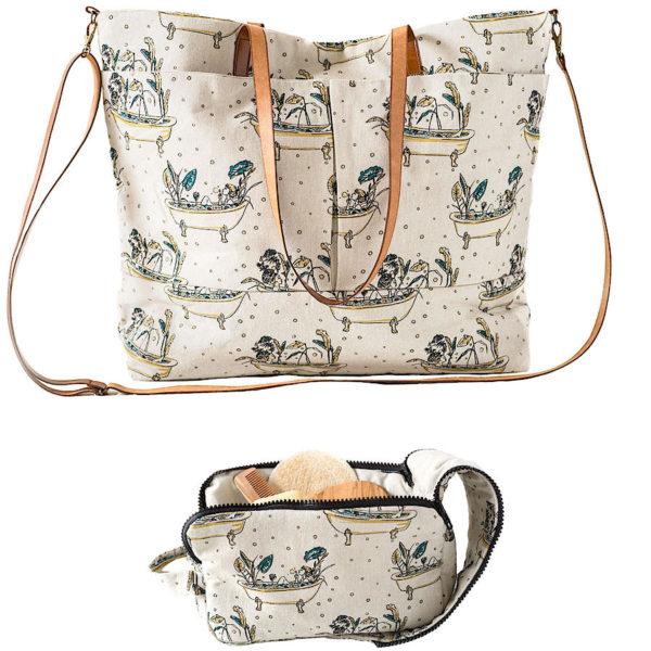 Patron para bolso y neceser, de Katia Fabrics