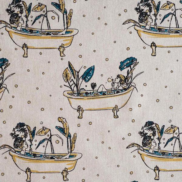 Patron para bolso y neceser (tela motivos), de Katia Fabrics