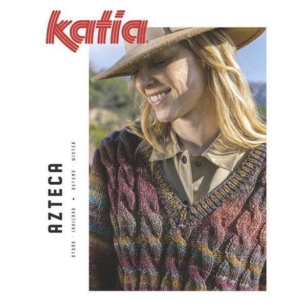 Revista de patrones de ganchillo Azteka, de Katia