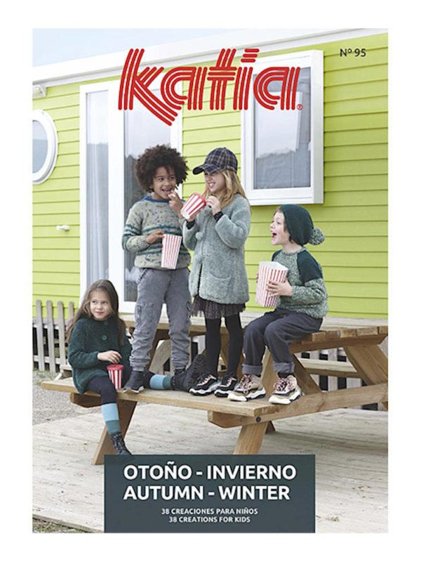 Revista de patrones de punto para niños y niñas, de Katia