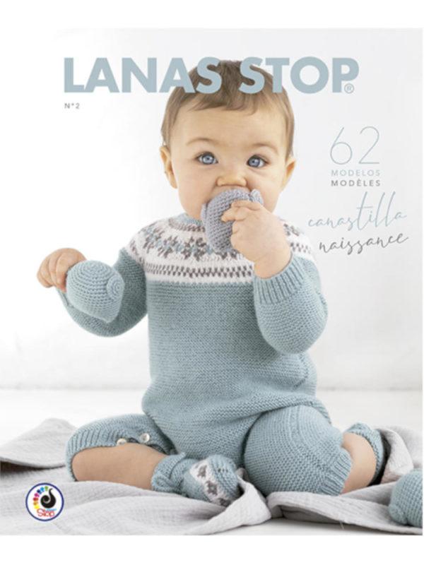 Revista con patrones de lana para bebes, de Katia
