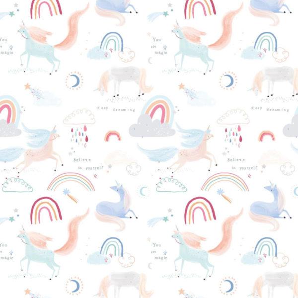 Tela popelin unicor is in the air algodon 100, de Katia Fabrics