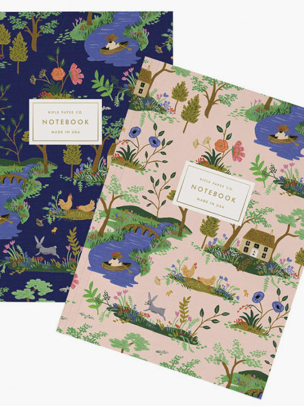 Blocks de notas Garden Toile Notebooks, de Rifle Paper