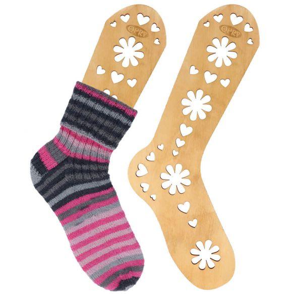 bloqueadores de madera para calcetines tejidos a mano talla M, de Opry