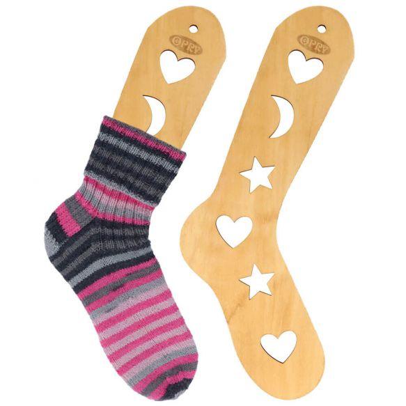bloqueadores de madera para calcetines tejidos a mano talla S, de Opry