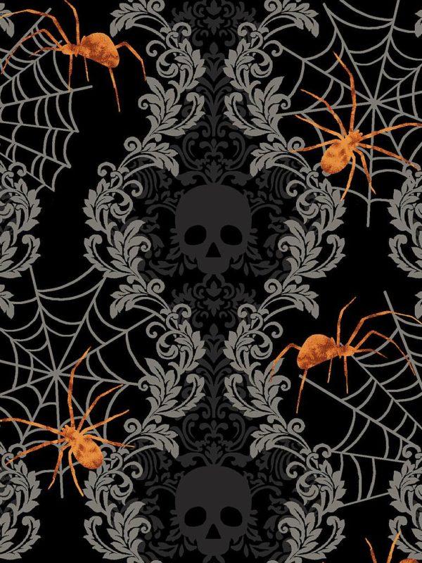 Tela de algodón Spooky Nights de Studio E