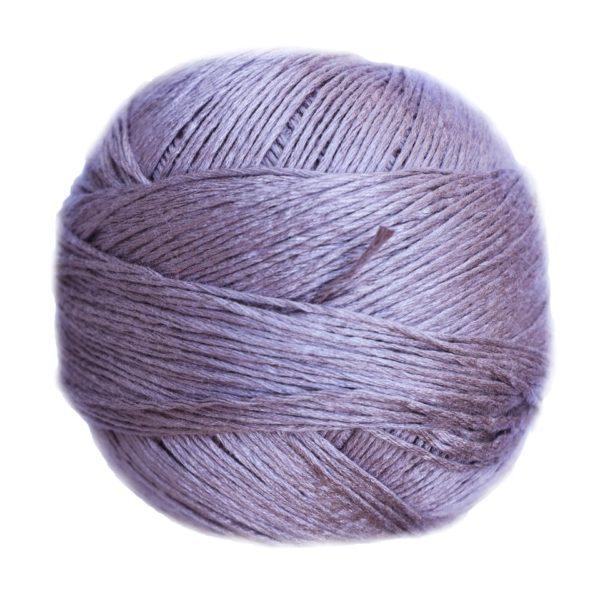 Ovillo Bambú grosor L, de Casasol, color lila pastel