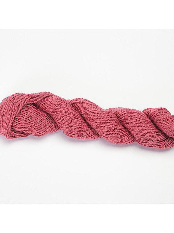 Ovillo de algodón 100% Ambra, de Lanasalpaca en color coral 2904