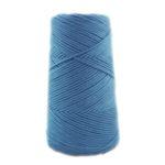 Ovillo algodón peinado Azul Acero