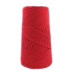 Ovillo algodón peinado Rojo
