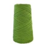 Ovillo algodón peinado Verde Hierba