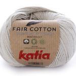 Fair cotton color 11 Gris claro perlado