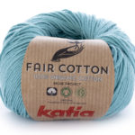 Fair cotton color 16 turquesa