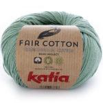Fair cotton color 17 verde menta