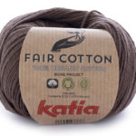 Fair cotton color 25 marrón