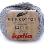 Fair cotton color 26 gris medio